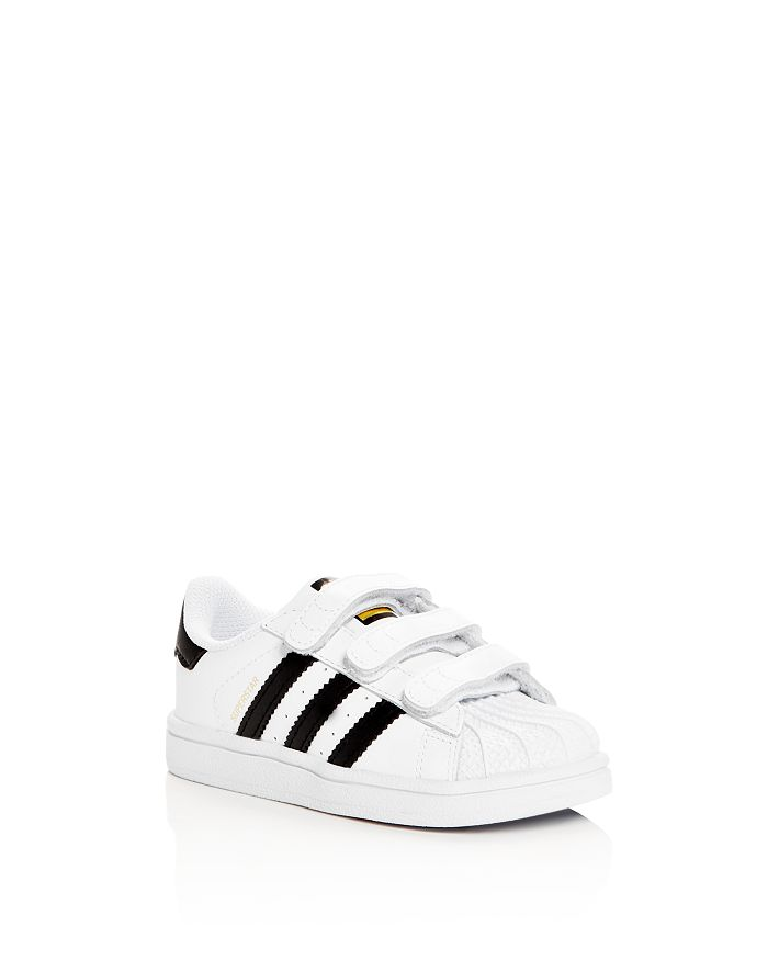 Adidas superstar strap sneakers