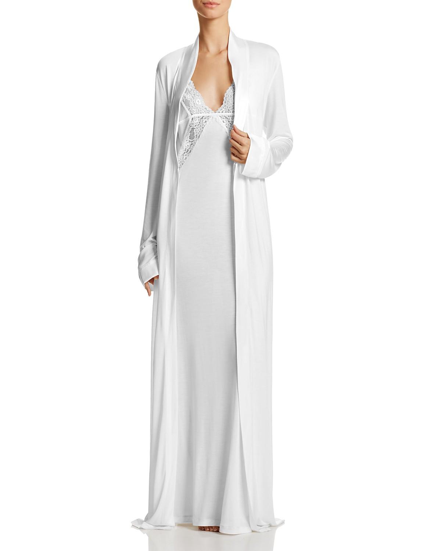 La Perla Airy Blooms Robe & Nightgown   Bloomingdale\'s