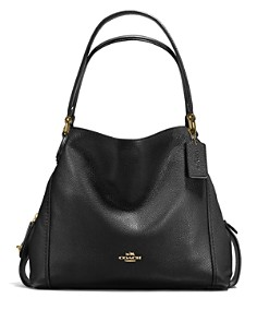 COACH - Edie Shoulder Bag 31 in Polished Pebble Leather