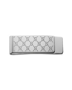 Gucci - Sterling Silver Icon Money Clip