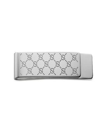 2e2ba5550b5497 Gucci Sterling Silver Icon Money Clip | Bloomingdale's
