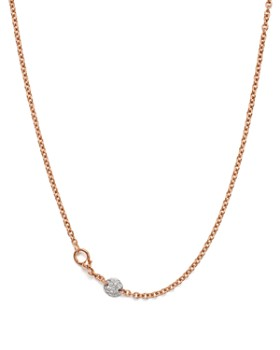 Pomellato - Sabbia Necklace with Diamonds in 18K Rose Gold