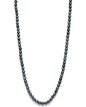 Cultured Tahitian Black Pearl Endless Necklace, 36 - 100% Exclusive