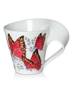 Villeroy & Boch - New Wave Café Mug Noble Leafwing Butterfly