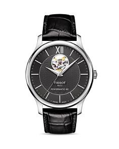 Tissot - Tradition Powermatic 80 Open Heart Watch, 40mm