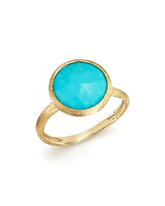 Marco Bicego - 18K Yellow Gold Jaipur Ring with Turquoise