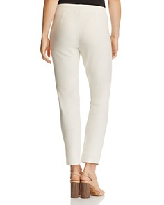 Eileen Fisher Petites - Slim Knit Ankle Pants