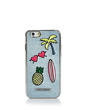 Rebecca Minkoff Luxe Double Up California Icon Patch iPhone 7 Case at Bloomingdale's
