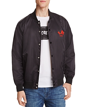 Obey Viktor Embroidered Bomber Jacket