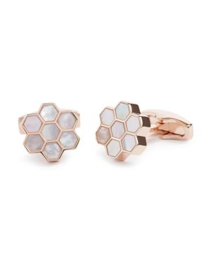 Simon Carter Honeycomb Cufflinks