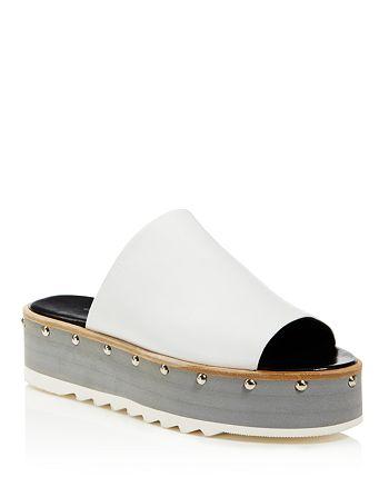 Charles David - Women's Float Studded Platform Slide Sandals