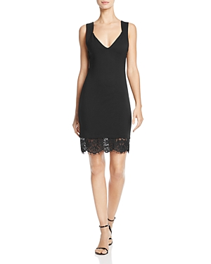French Connection Lula Lace-Trimmed Dress