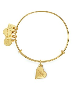 Alex and Ani - Heart of Strength Expandable Wire Bangle, Charity by Design Collection