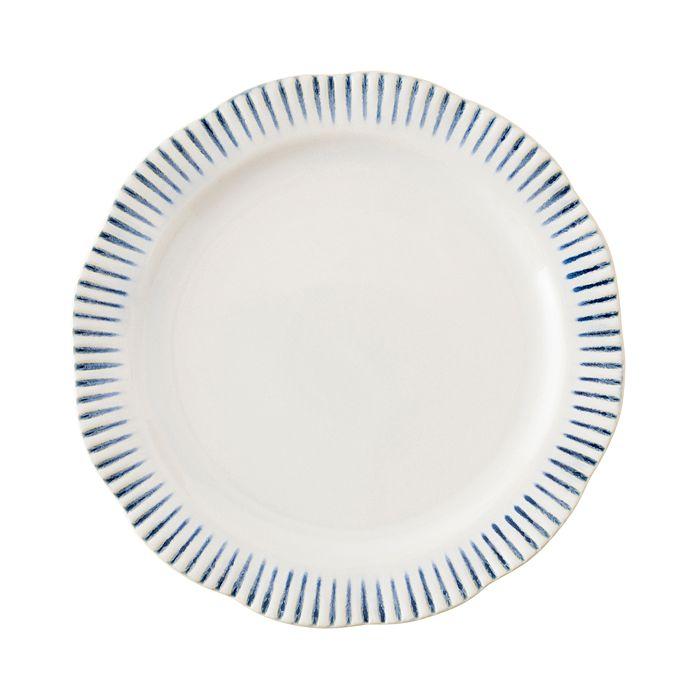Juliska - Sitio Stripe Indigo Dinner Plate