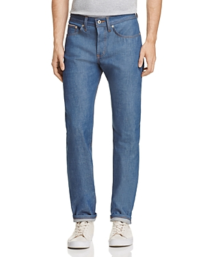 Naked & Famous Weird Guy Slim Fit Jeans in Sunrise Selvedge