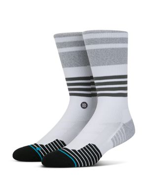 Stance Silverlinings Striped Crew Socks