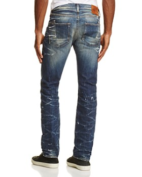 PRPS Goods & Co. - Seismic Straight Fit Jeans in Indigo