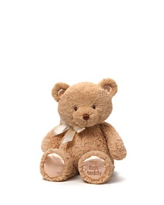 "Gund My First Teddy, 15"" - Ages 0+ - Bloomingdale's_0"