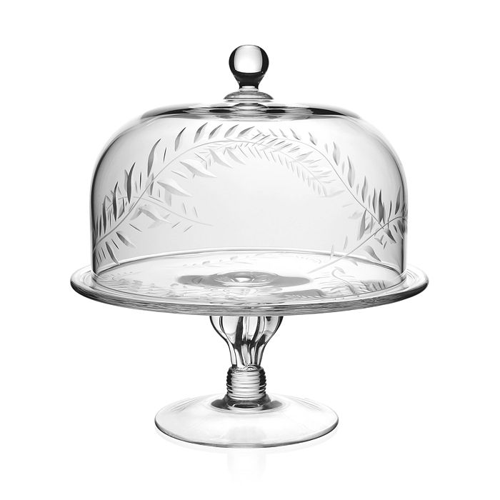 William Yeoward Crystal - Jasmine Cake Stand and Dome