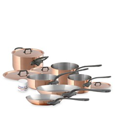Mauviel - 10-Piece Copper Cookware Set