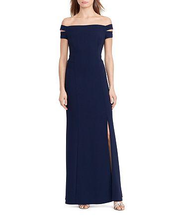 Ralph Lauren - Off-the-Shoulder Gown