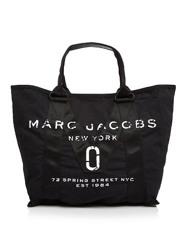 $MARC JACOBS Logo Canvas Tote - Bloomingdale's