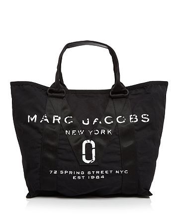 MARC JACOBS - Logo Canvas Tote