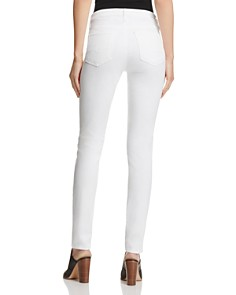 AG - Prima Mid-Rise Cigarette Sateen Jeans in White