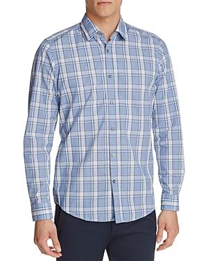 Boss Lukas Plaid Regular Fit Button-Down Shirt