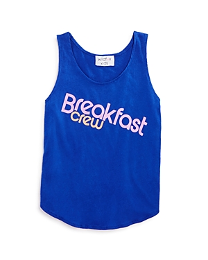 Wildfox Girls' Breakfast Crew Tank - Big Kid