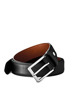 Shinola Brindle Leather Bombe Tab Belt - Bloomingdale's_0