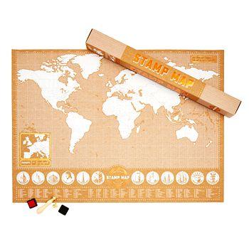 Luckies Stamp Map   Bloomingdale's