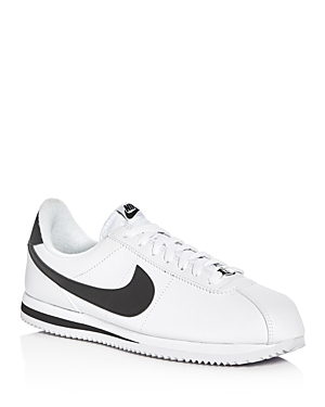 Nike Cortez Leather Lace Up Sneakers