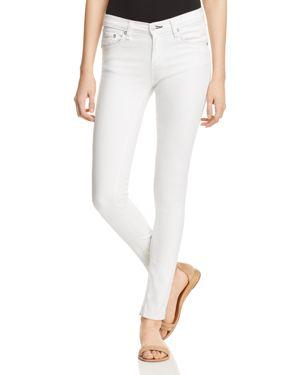rag & bone/Jean Skinny Jeans in White