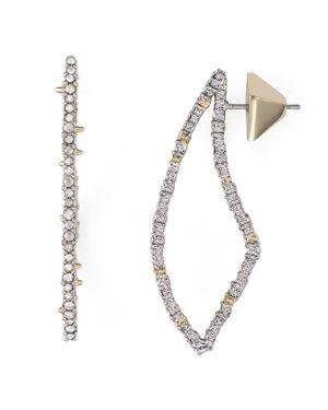 Alexis Bittar Swarovski Crystal-Encrusted Abstract Thorn Drop Earrings