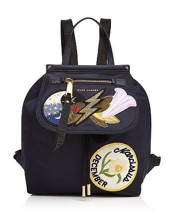 MARC JACOBS - Embellished Zip Nylon Backpack