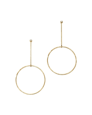 Click here for Zoe Chicco 14K Yellow Gold Diamond Stud and Circle... prices