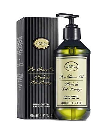 The Art of Shaving - Unscented Large Pump Pre-Shave Oil