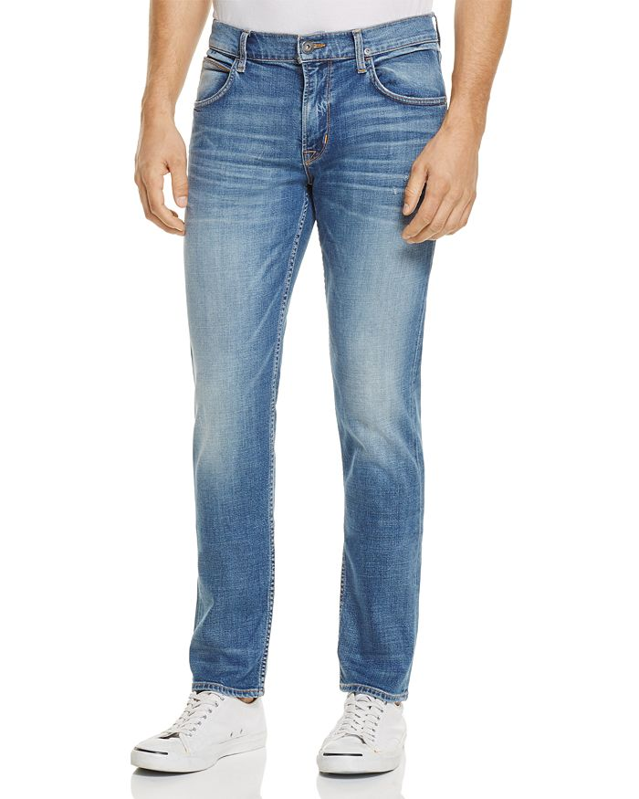 Hudson - Blake Slim Straight Fit Jeans in Normandy