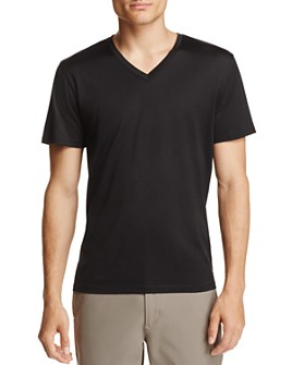Theory - Claey Plaito V-Neck Tee