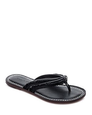 Bernardo Miami Fringe Thong Sandals