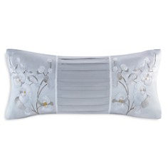 "Natori White Orchid Decorative Pillow, 10"" x 20"" - Bloomingdale's_0"