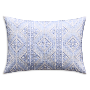 cupcakes and cashmere Tribal Geo Embroidered Decorative Pillow, 14 x 20