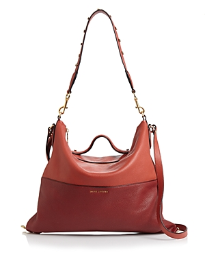 Marc Jacobs The Grip Leather Satchel