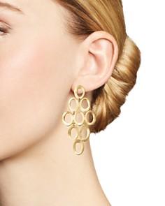 IPPOLITA - Ippolita 18K Yellow Gold Open Cascade Earrings