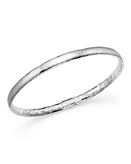 IPPOLITA - Ippolita Sterling Silver Basic Hammered Bangle