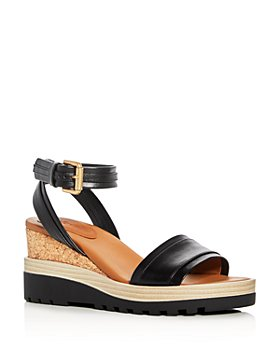 See by Chloé - Women's Robin Ankle Strap Platform Wedge Sandals