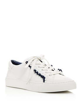 Tory Sport - Women's Ruffle Low Top Lace Up Sneakers