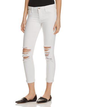 Joe's Jeans Andie Distressed Skinny Ankle Jeans in Scottie
