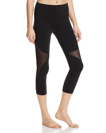 Alo Yoga - High Waist Coast Crop Leggings